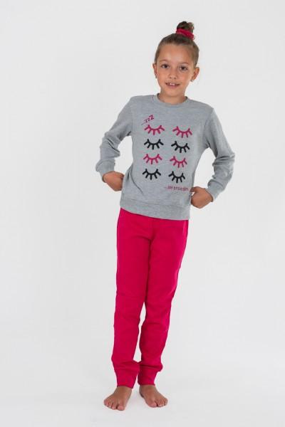Εφηβική Πιτζάμα Κορίτσι TRAX EYES 40695
